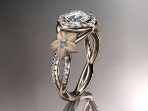 Non-Traditional engagement ring...omg. by maura