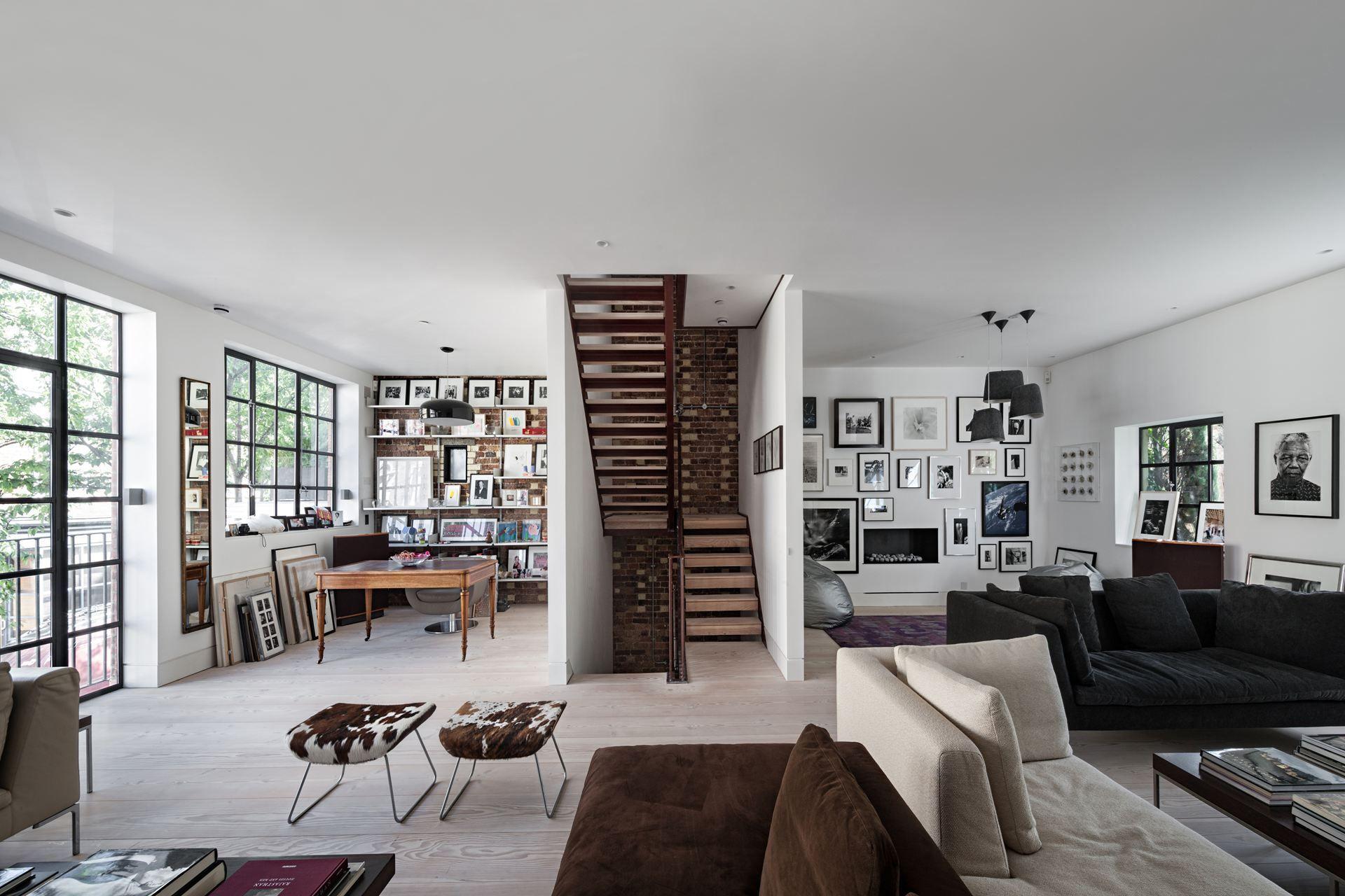 Une maison au style loft à Notting Hill   PLANETE DECO a homes world ...