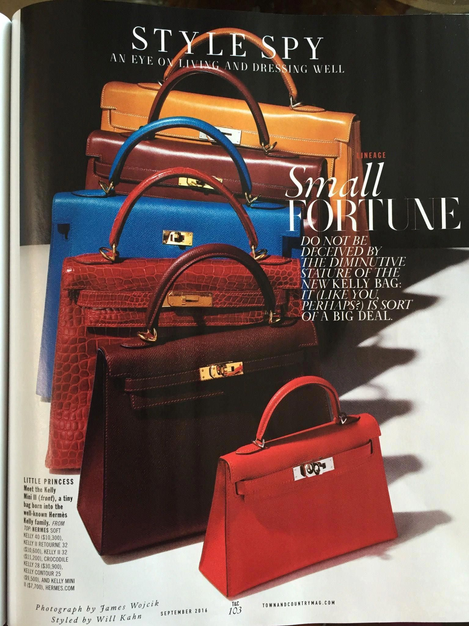 47dd1fe91e7 Official news of new Hermes Kelly Mini and its darling details including  price