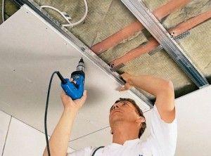 утепление потолка в подвале, квартире, бане, гараже