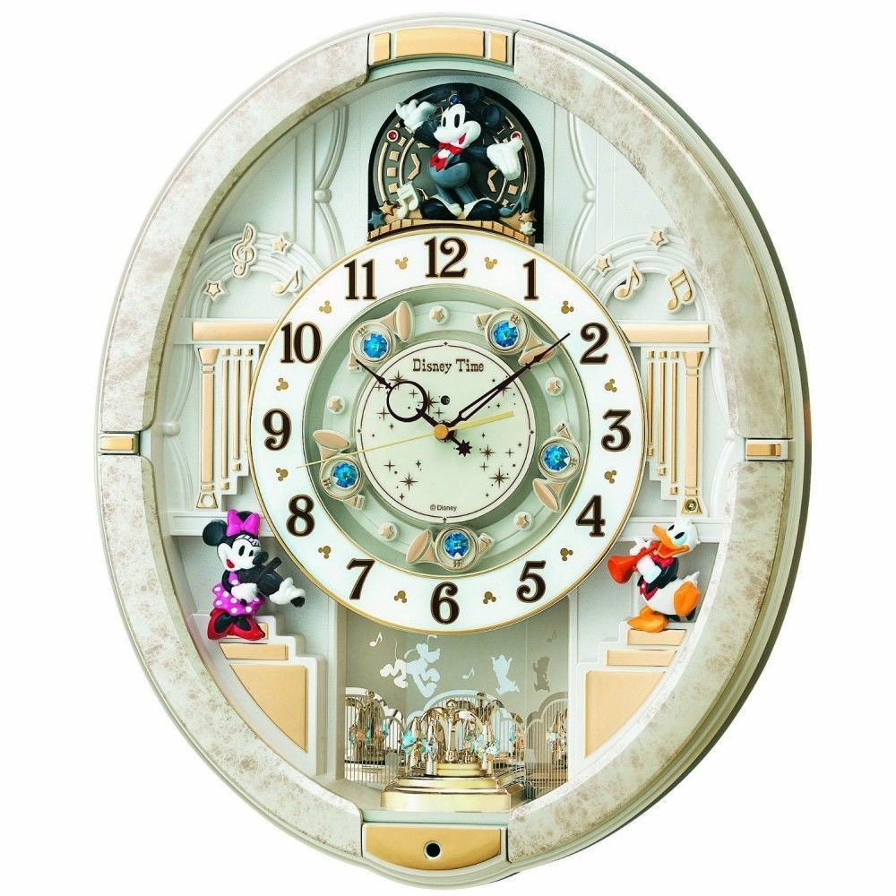 New seiko clock disney automaton karakuri clock clock newestshop seiko seiko wall clock mickey friends disney time disney thyme radio time signal purchase now to accumulate reedemable points amipublicfo Images