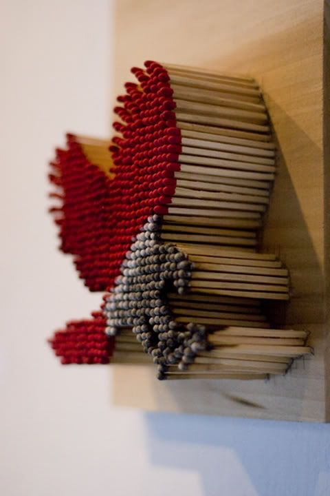 I just bought a bunch of cool match sticks now i know to - Harrington institute of interior design ...