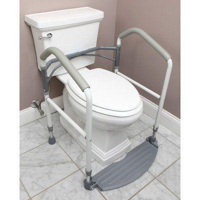 Buckingham Foldeasy Toilet Surround Support Aid Safety Frame |