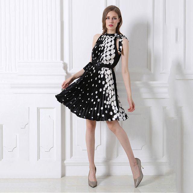 1c2f30bdd76 2017 Women Summer Elegant Beach Polyester Clothing Bohemian Print Maxi Long  Party Dress Plus Size 2XL 3XL Vestidos Black Dresses
