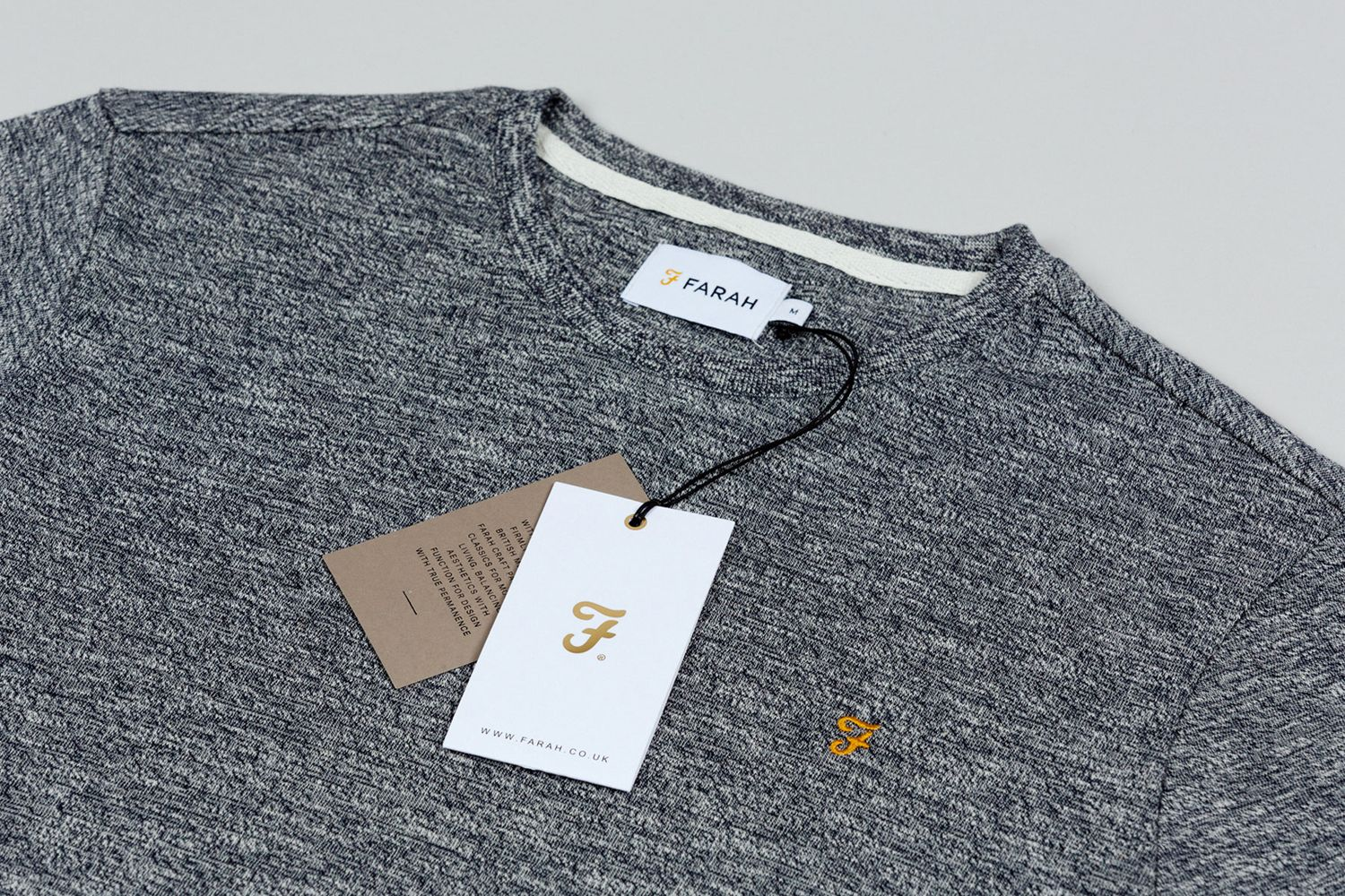 Design t shirt label - Brand Identity Clothing Label And Tags For Men S Fashion Brand Farah By Graphic Design Studio