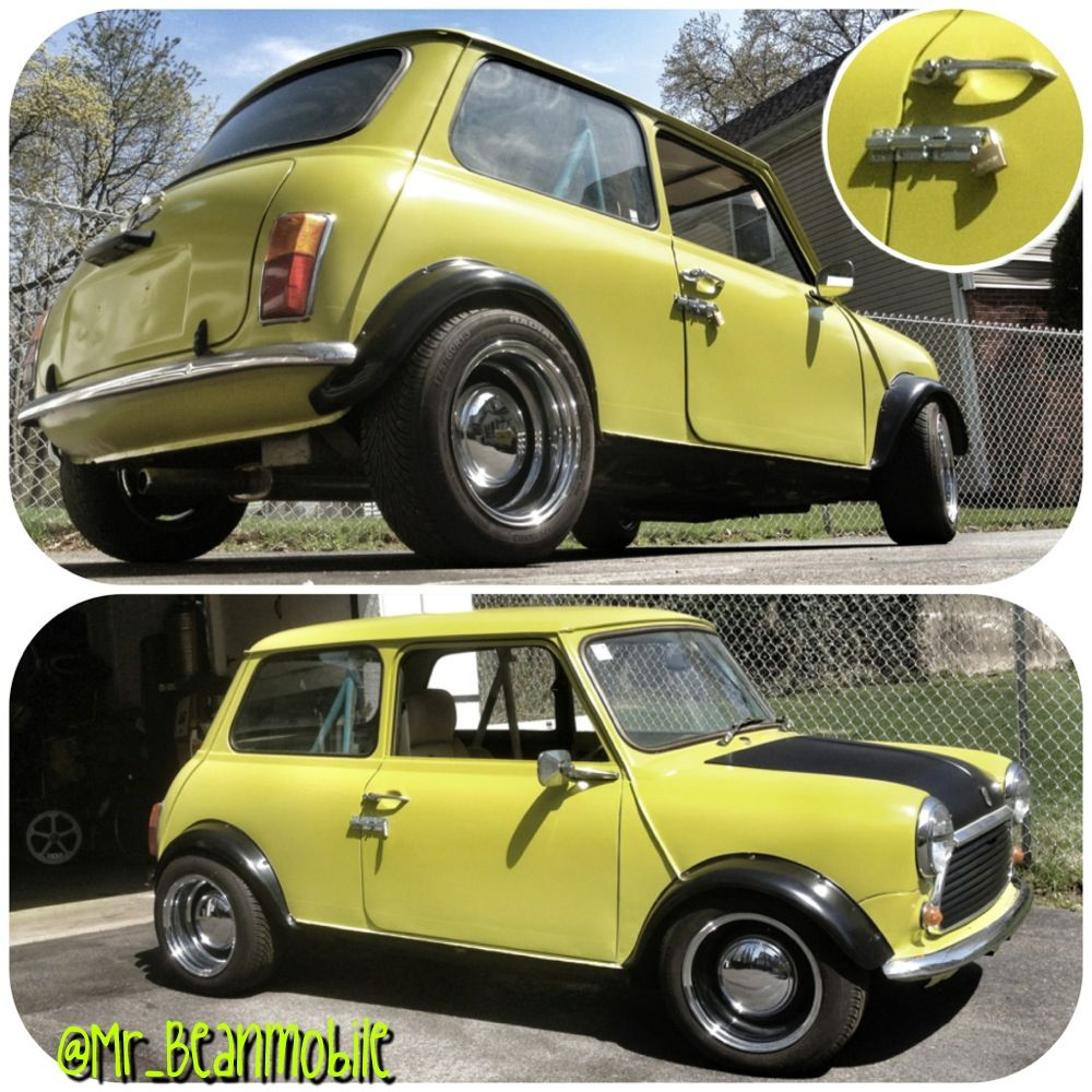My Mr Bean Classic Mini Is Coming Along And Yes The Door Lock Is On Mobil Klasik Mobil