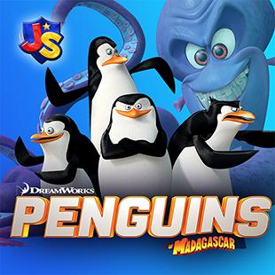 World of Madagascar Penguin Games Online JumpStart