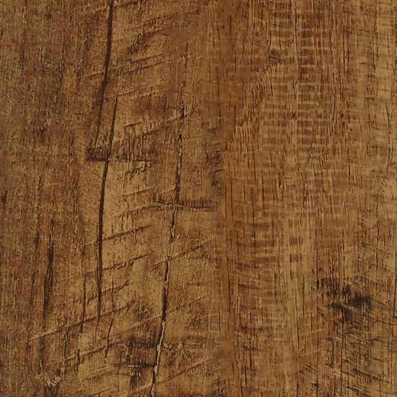 Colours Self Adhesive Brown Rustic Oak Effect Vinyl Plank