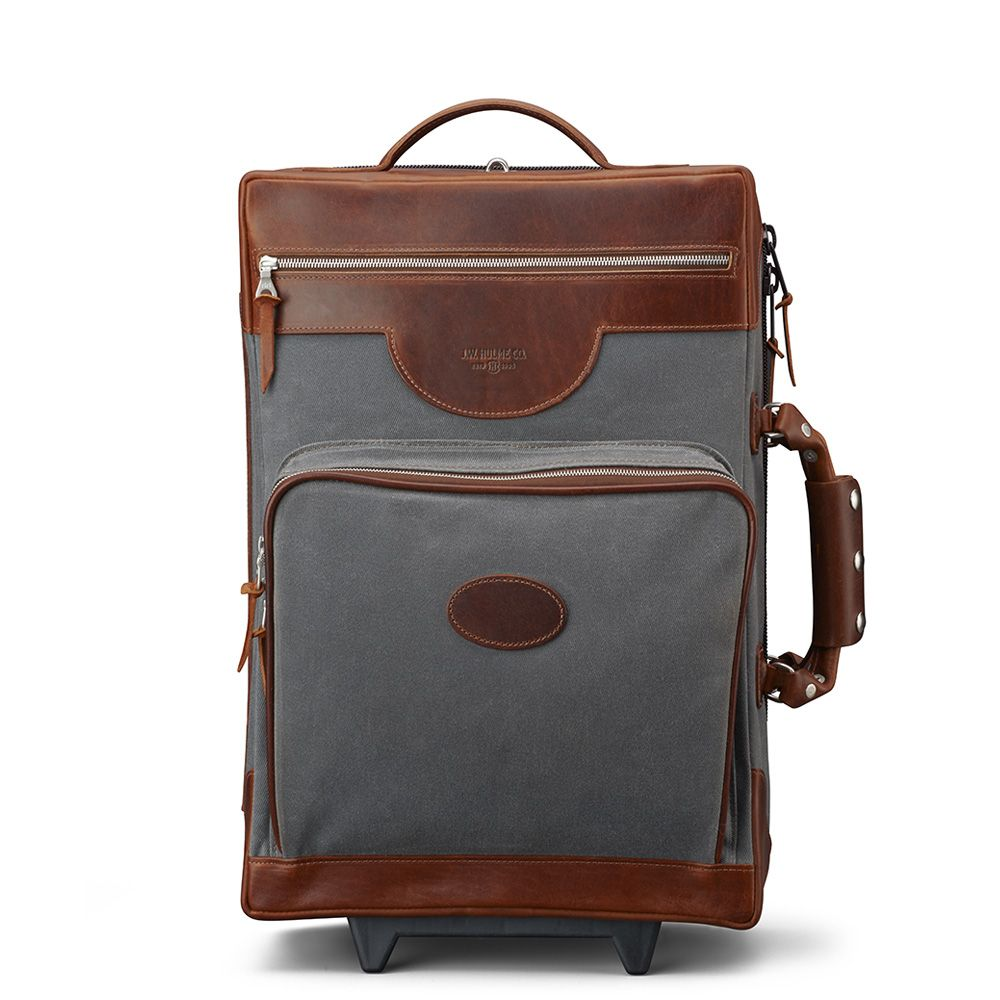 Canvas Rolling Luggage Mc Luggage
