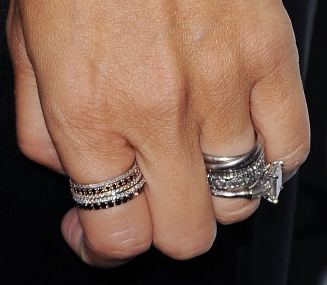 Love Stacked Rings By Rachelzoe Tiny Precious Stone Bands Omg I Would To Have Maggie's: Rachel Zoe Wedding Band At Websimilar.org
