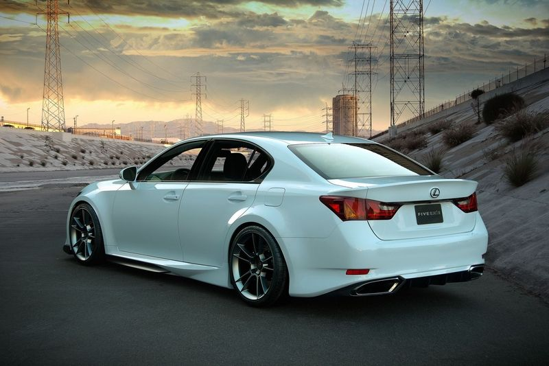 Custom 2013 Lexus GS 350 by Five Axis Pictures and
