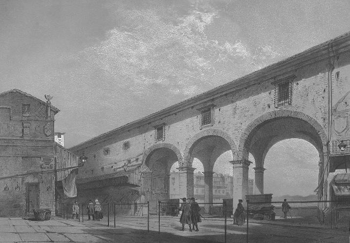 1860-1870: Ponte Vecchio