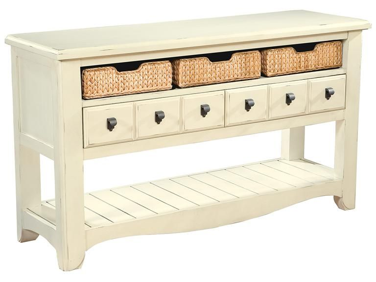 Superior Coconut  Sofa Table At Deets Furniture Store
