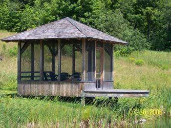 Screen House In Calais, Vermont