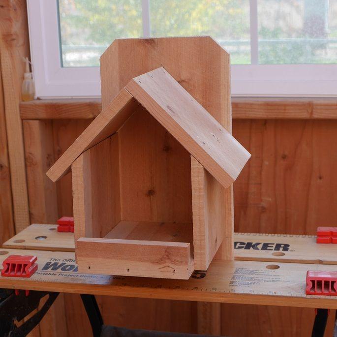 DIY Cardinal Bird House Construct101