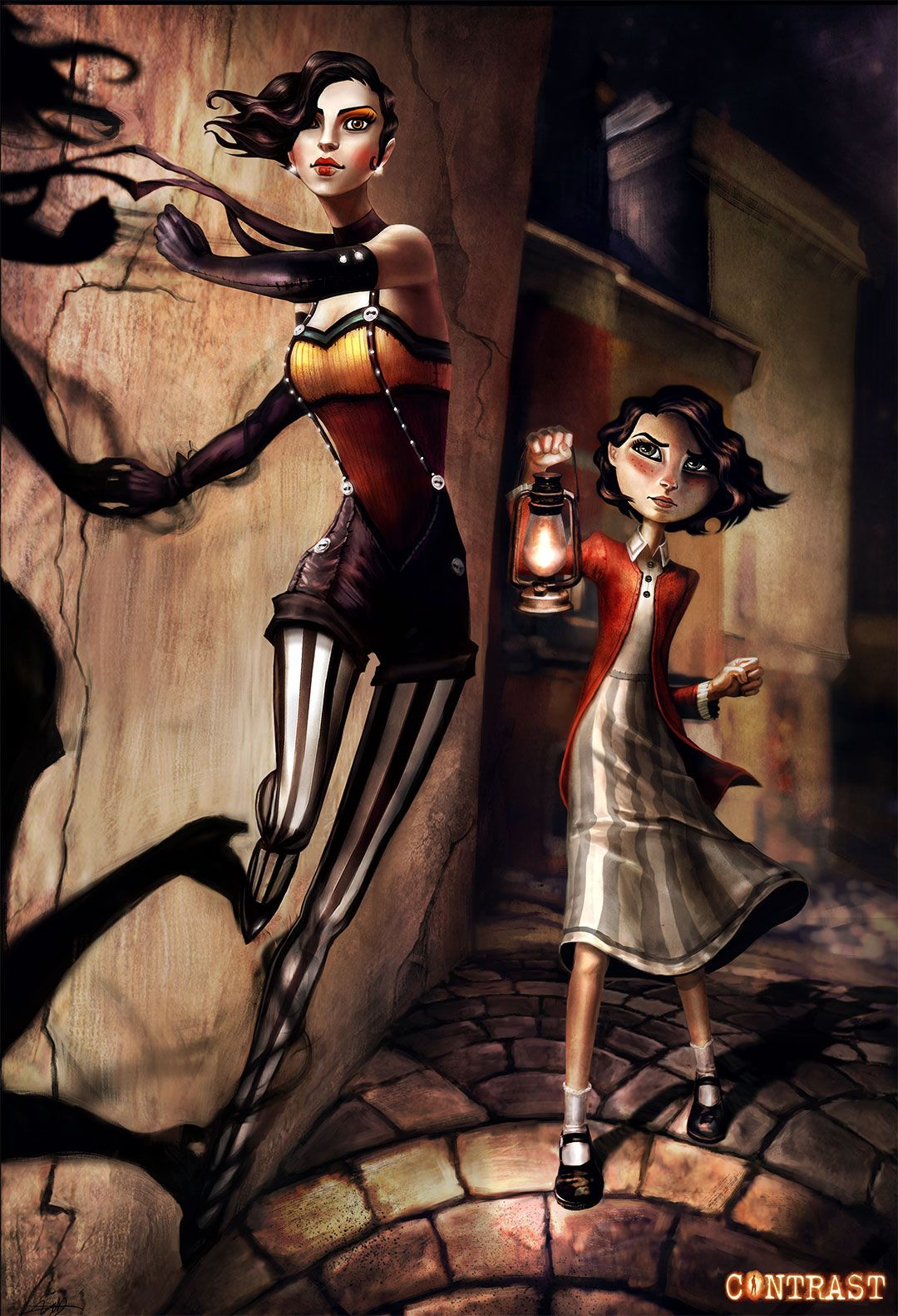 Contrast Game: Dawn and Didi | Costumes | Pinterest | Dawn ...