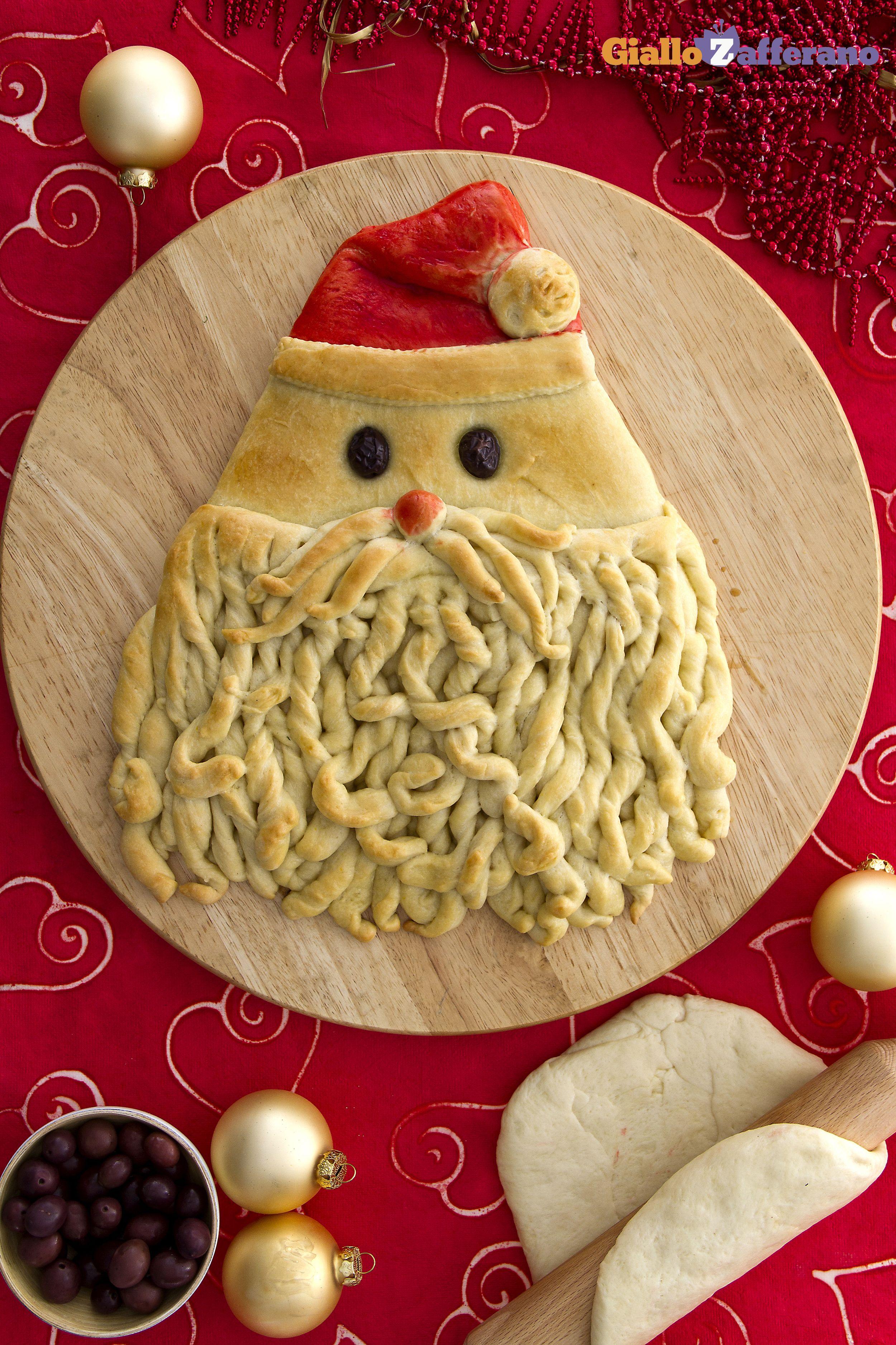 Antipasti A Forma Di Babbo Natale.Pane Di Babbo Natale Ricetta Alimenti Di Natale Idee Alimentari E Ricette