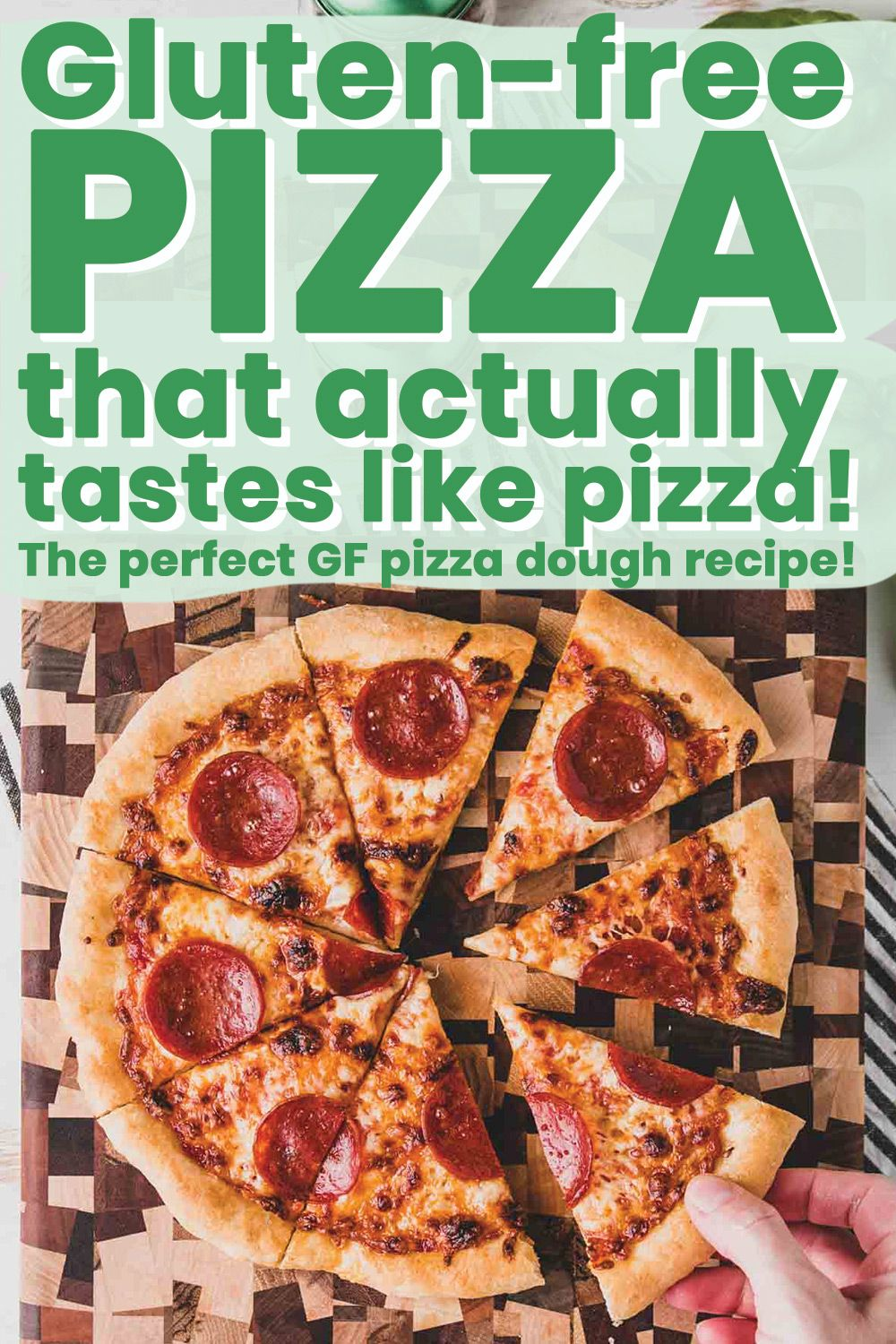 Gluten Free Pizza That Tastes Like Pizza Wheat By The Wayside Recipe In 2020 Gluten Free Pizza Gluten Free Brands Gluten Free Recipes For Dinner