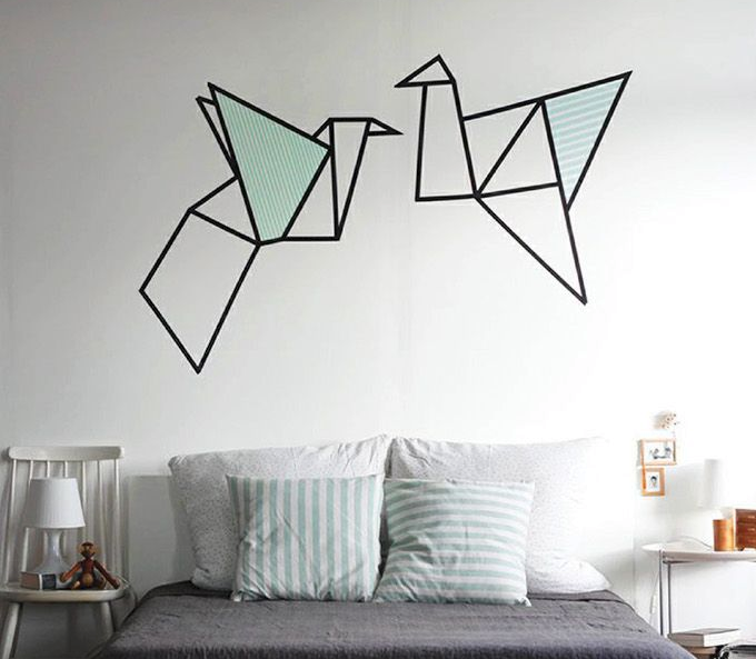15 creativas ideas para pintar la pared de tu rec mara - Decoracion de paredes pintadas ...