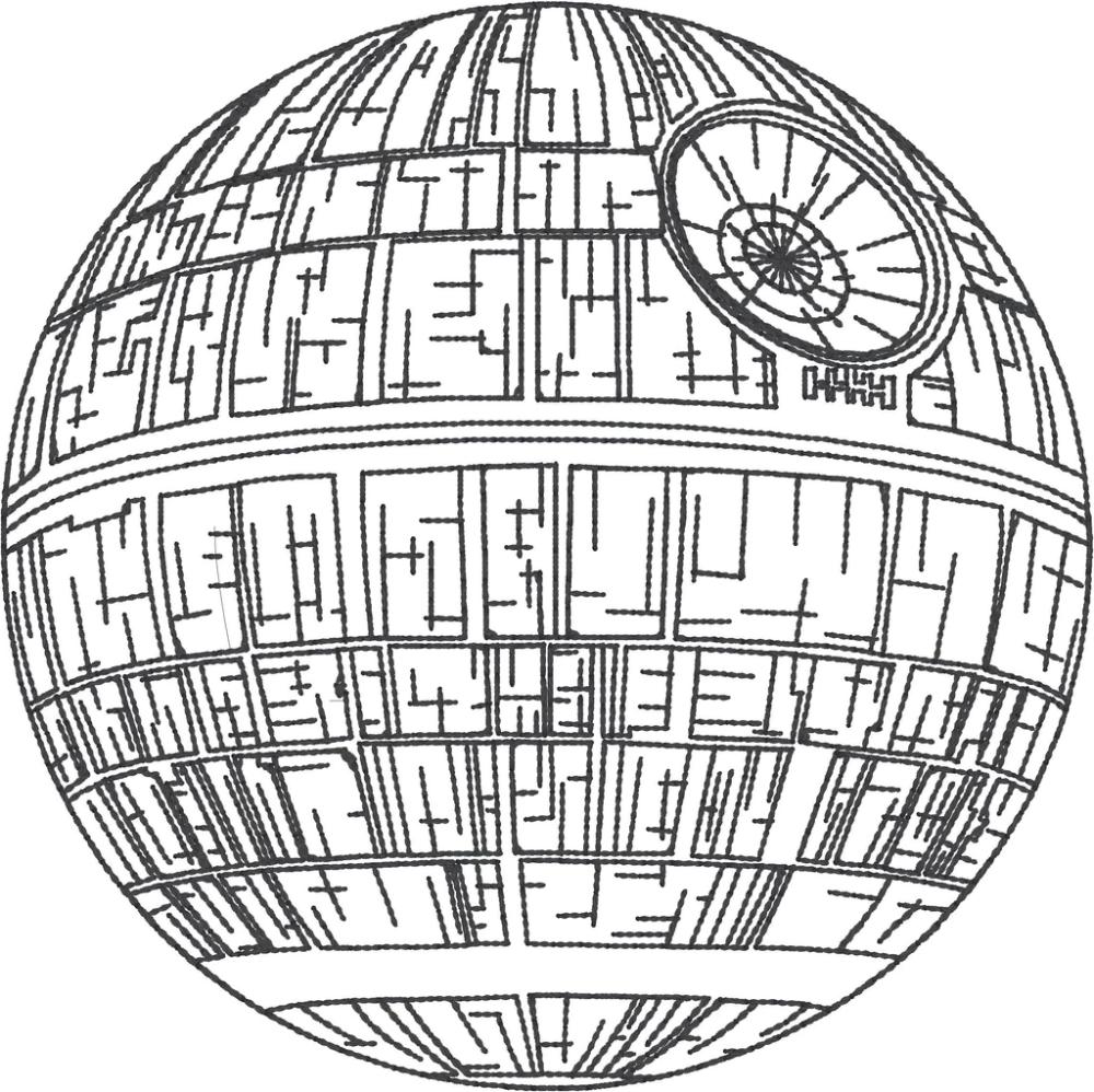 Pin On Star Wars Death Star