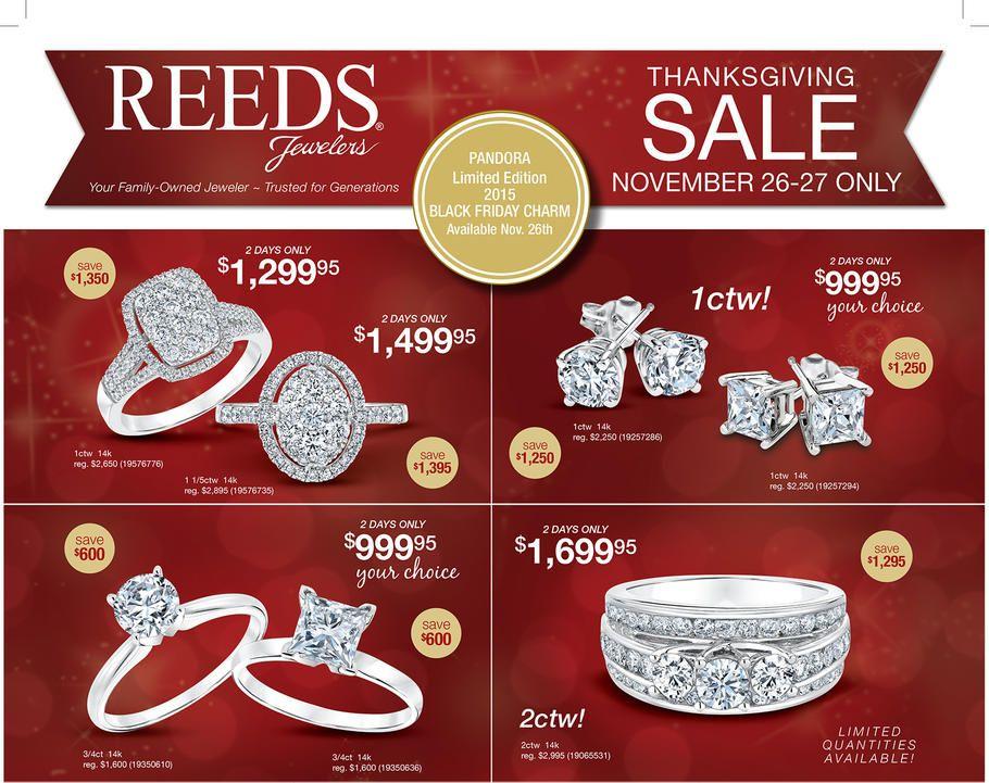Reeds Jewelers Black Friday Ad 2015, Sales & Deals | Black Friday ...