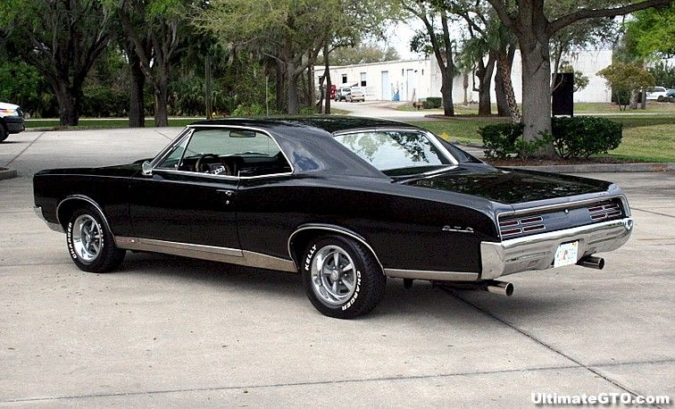 Black 1967 GTO
