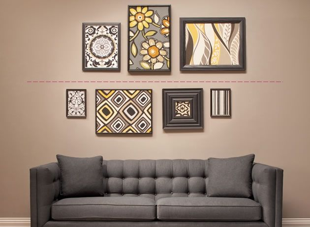 How To Diy Hang And Arrange Wall Art The Art Of Arranging