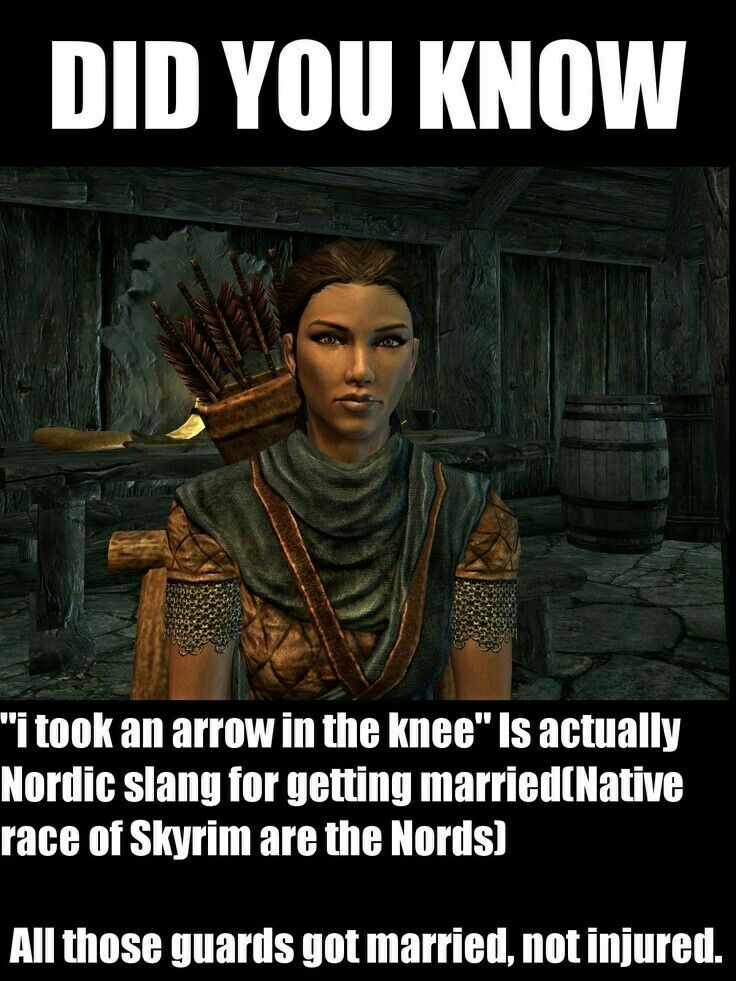 Pin by Parker Young on Skyrim memes | Skyrim memes