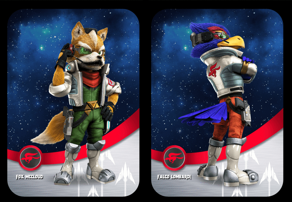 Star Fox Custom Made Amiibo Cards (SSB Series) | Game Cheats | Star