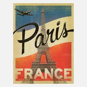 Paris Extra Aged 18x24, $24, now featured on Fab.