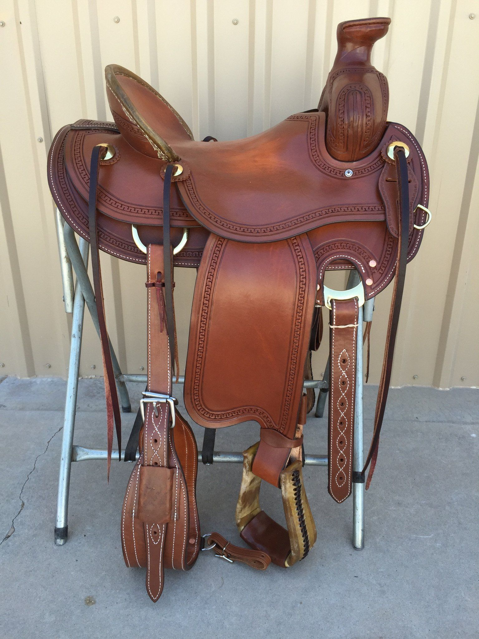 Corriente Ranch Saddles
