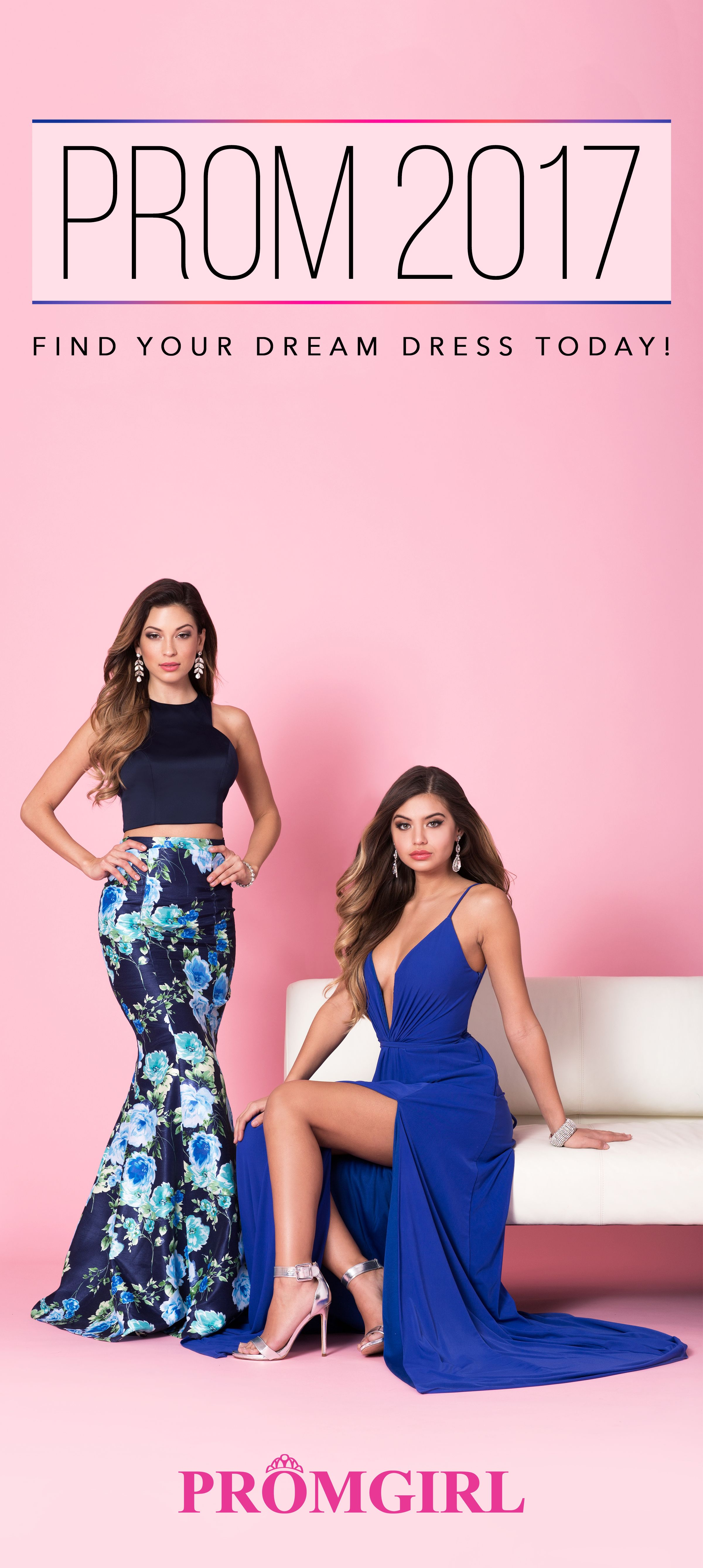 PromGirl carries a large selection of prom dresses that are shown in ...