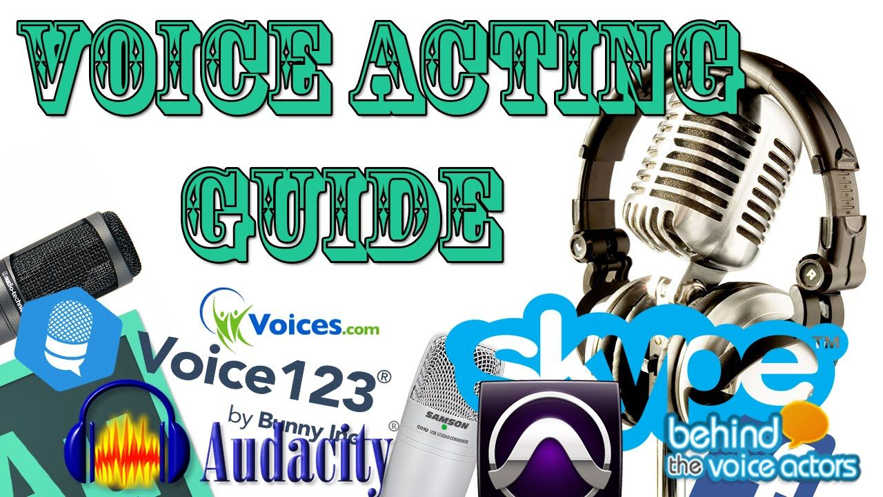 A complete beginners guide to voice acting online voice