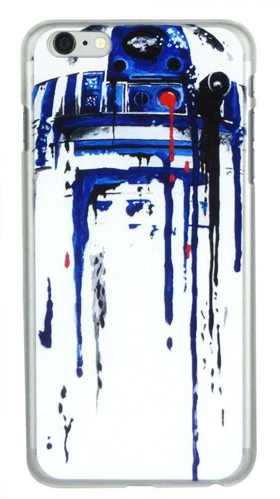 Star Wars Stormtrooper - R2-D2 Watercolor Running Art Phone Case