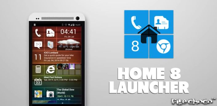 Only Windows 8 style Launcher with real live tiles Gmail