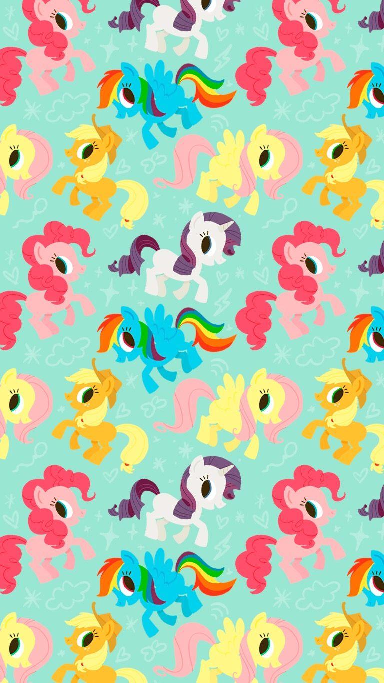 Pin By Elizabeth Leech On My Little Pony My Little Pony Wallpaper Cartoon Wallpaper Little Pony
