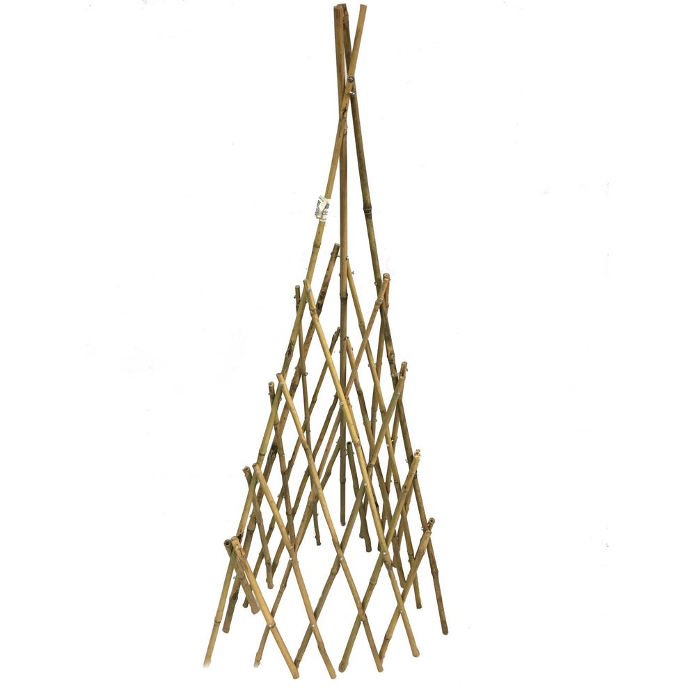 MGP 60 in  H Natural Bamboo Poles Teepee in 2019 | Products