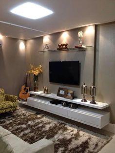 Sala de tv ilumina o muebles y decoraci n pinterest - Decoracion cuarto de estar ...