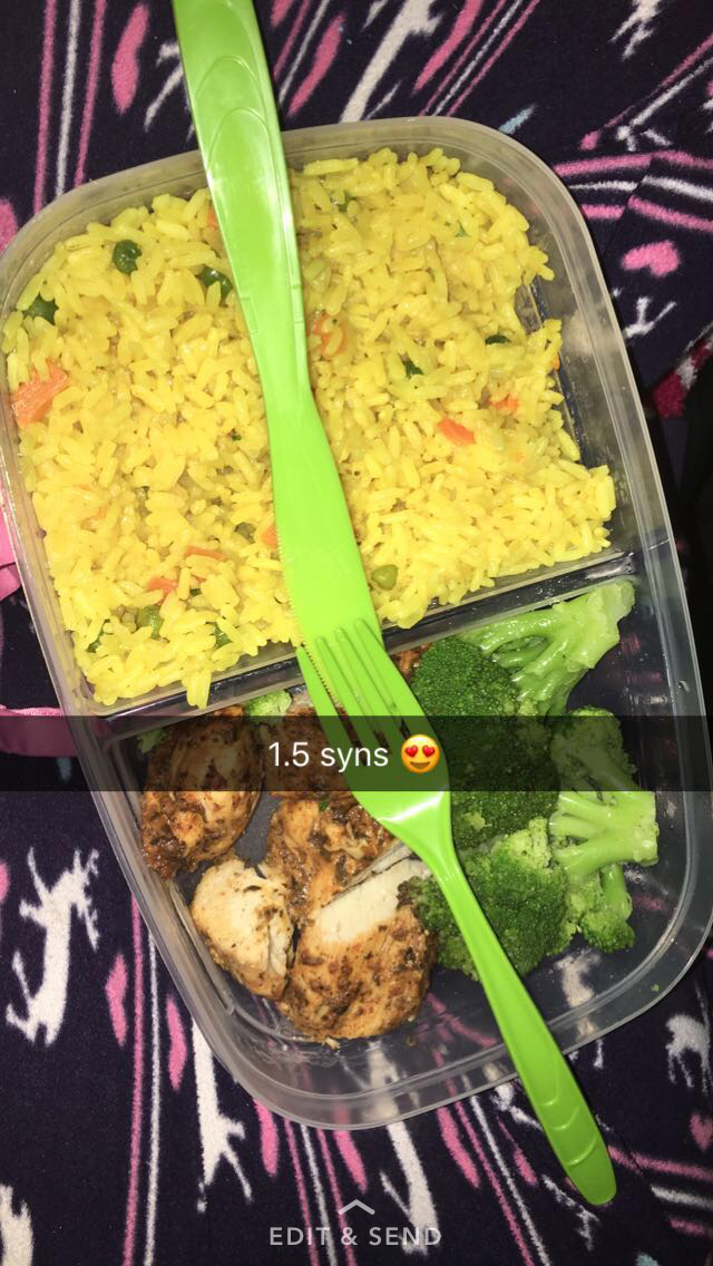 aldi golden veg savoury rice chicken
