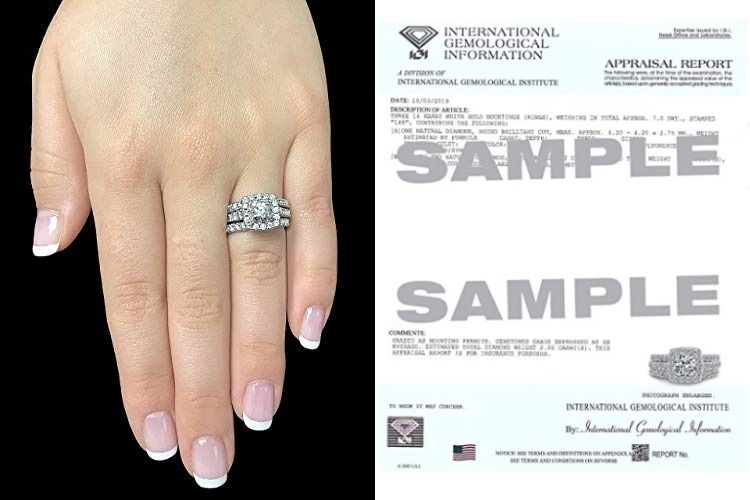 Beverly Hills Jewelers 2 00 Carat Diamond Engagement Ring 14 Karat White Gold Diamond Ring Fo Womens Engagement Rings Engagement Rings White Gold Diamond Rings