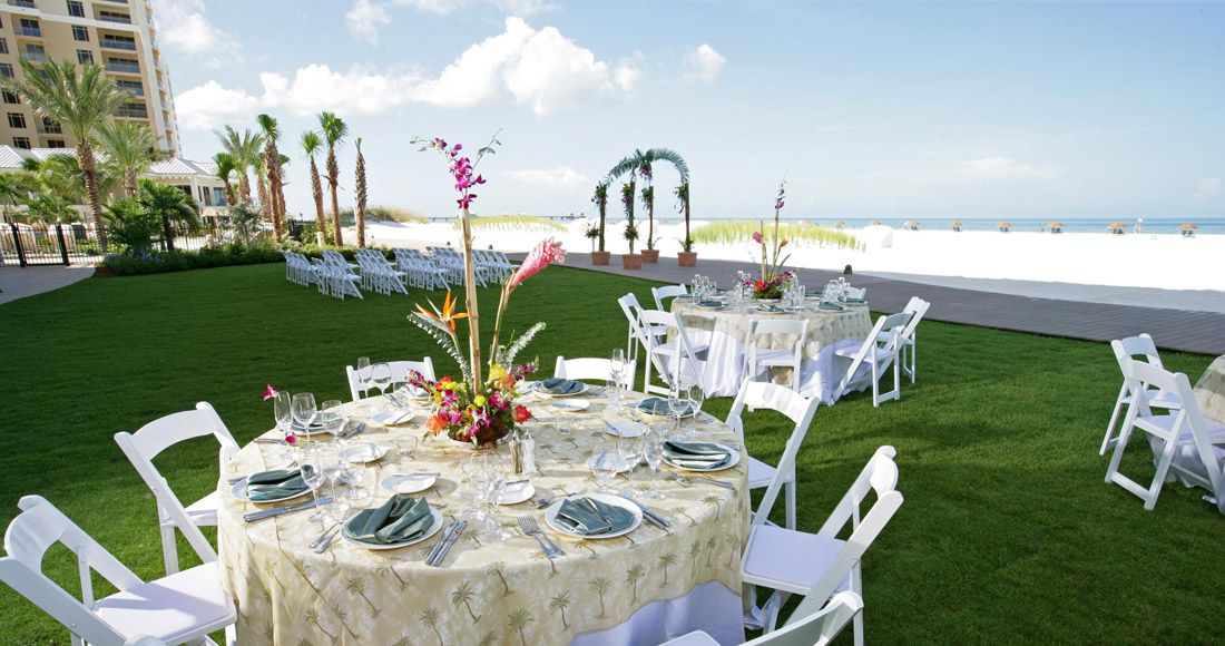 The Sandpearl Resort Clearwater Beach Is A Beautiful Wedding Destination Tampa Bay Venues Pinterest Resorts And