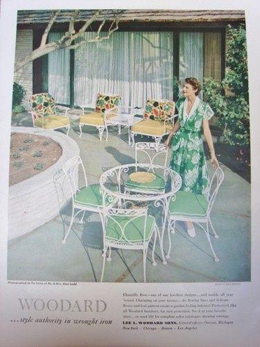 Wrought Iron Outdoor Furniture Modern