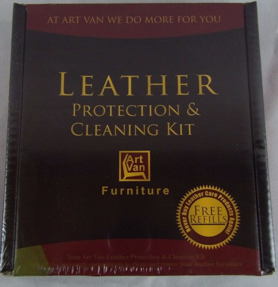 Best Art Van Furniture Leather Protection Cleaning Kit Ink 400 x 300