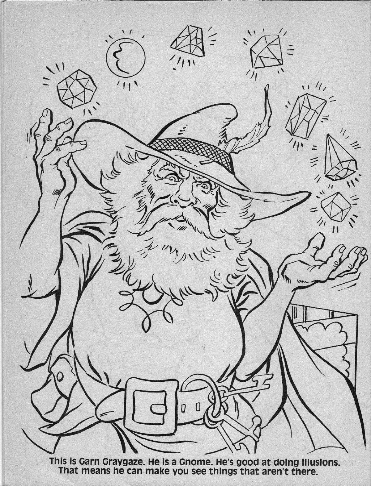 Dungeons and dragons characters, Coloring books, Advanced ...