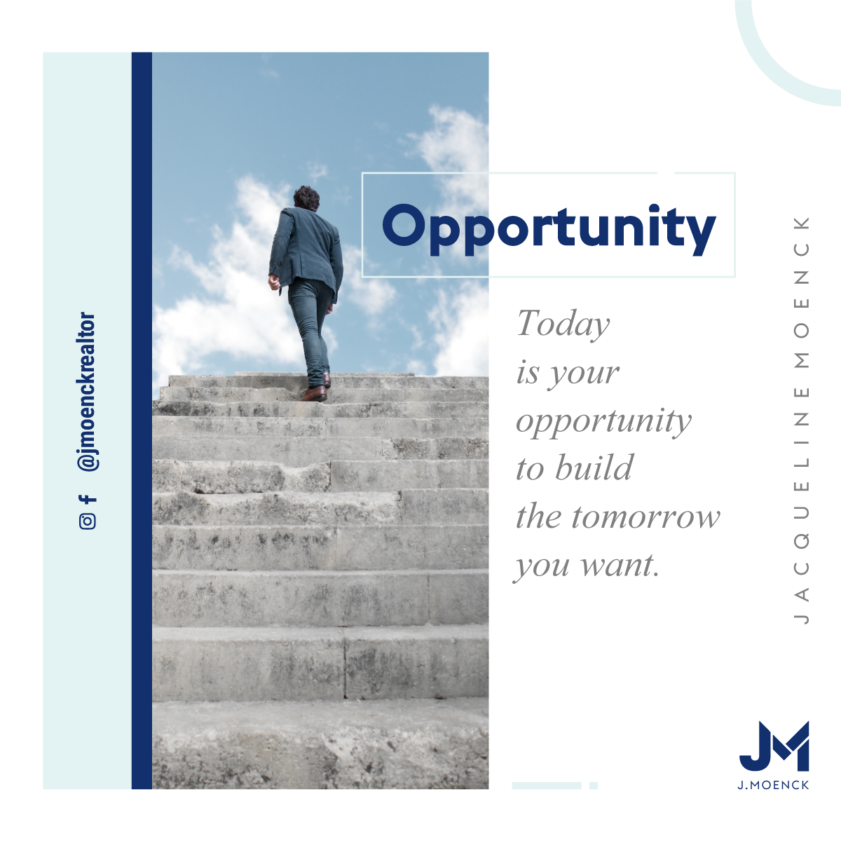 Today is your opportunity to build the tomorrow you want.  #miamifl #southflorida #coralgables #brickell #miamilakes #realestate #realestateagent #realestatesales #realestatemiami #realestatebroker #realestateagents #casasenventa #luxuryhomes #casasdelujo #downtownmiami #miamirealestate #miamirealtor #miamirealtors #miamirealestateagent #homebuying  @jmoenckrealtor @realestateempiregroup