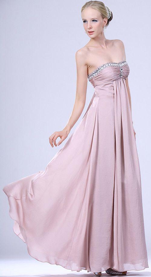 Trajes de Noche en Rosa con Pedreria precioso! | Cool Wedding Ideas ...