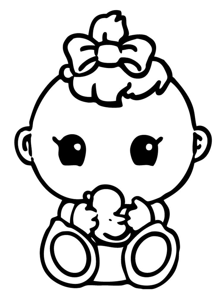 Newborn Baby Coloring Pages Below Is A Collection Of Cute Baby Coloring Page That You Can Download In 2021 Baby Coloring Pages Cute Coloring Pages Cool Coloring Pages