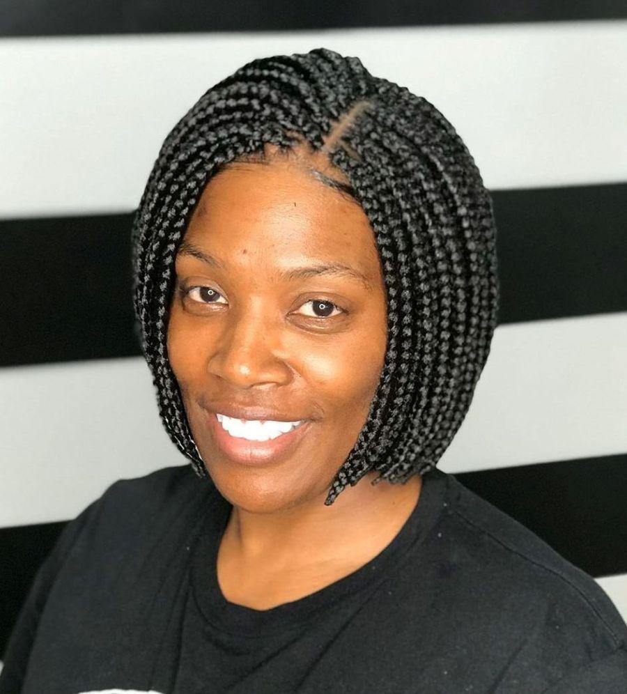 30 trendy box braids styles stylists for 2020