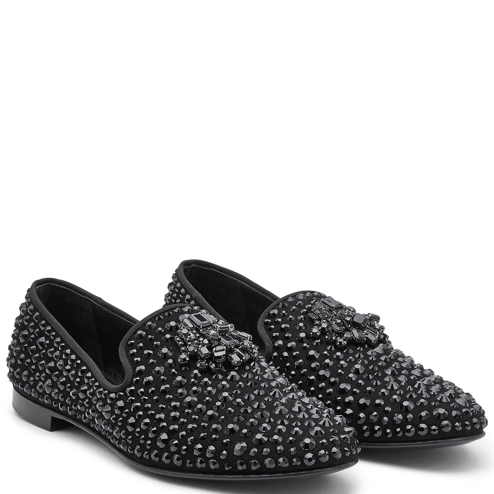 7e69ee16e1132 Blaze - Loafers - Black | Giuseppe Zanotti | For The Groom | Black ...