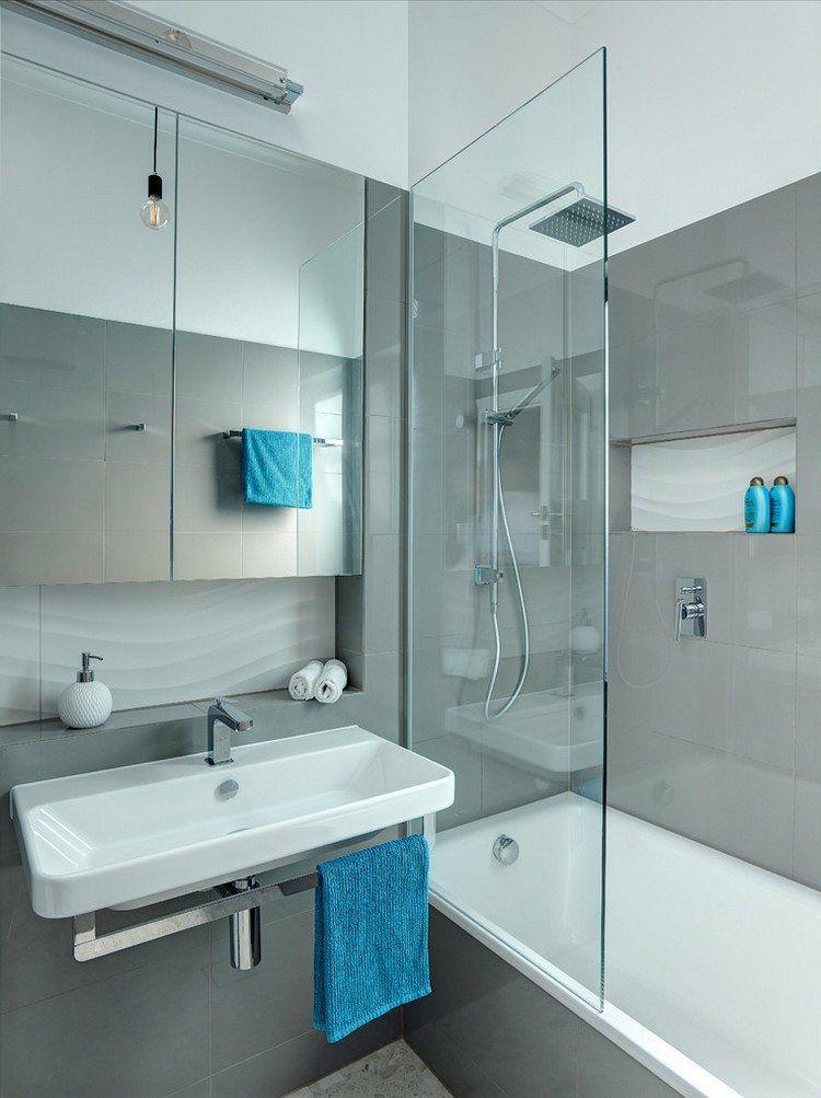 Duchas: 50 opciones para baños pequeños | Baño pequeño, Duchas y ...